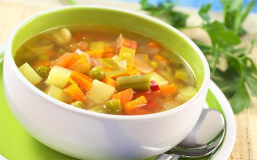 Расчет калорийности супа