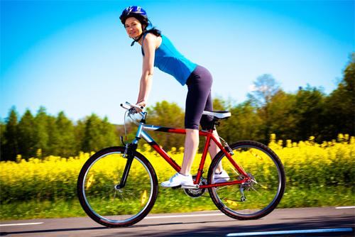 Велосипед улучшает обмен веществ
