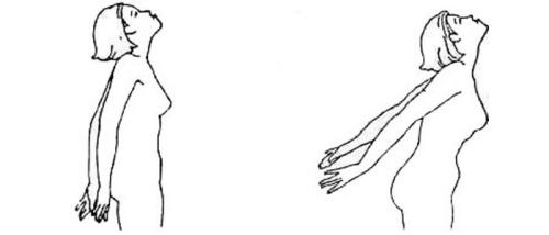 Уродливая гримаса (проработка мышц шеи, рук и спины)