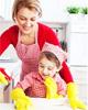 Как быстро убраться, когда дома ребенок?
