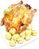 Как приготовить жареную курицу