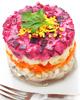 Новогодние рецепты салатов на год Красной Огненной Обезьяны