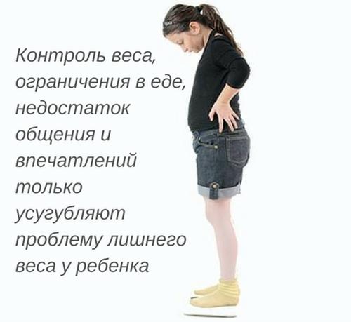 Измените пищевые привычки ребенка (calorizator)