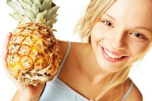 Ананасовая диета для похудения (ананас, йогурт, курица) - похудение на модной диете.