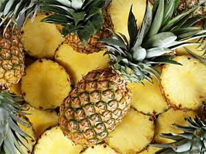 Ананасовая монодиета (ананас, йогурт, креветки, огурец) - похудение на модной диете.