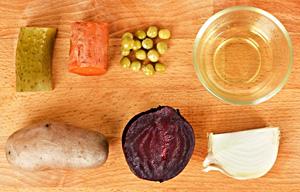 Монодиета на винегрете (и еще груши, яблоки, йогурт, кефир) - похудение на модной диете.
