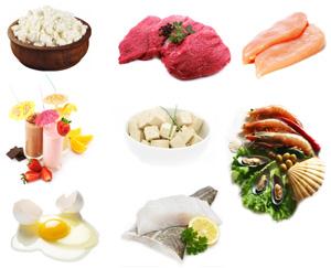 Витаминно-белковая диета (кальмары, ветчина, яйца, творог) - похудение на модной диете.