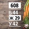 Рацион на 610 ккал разгрузочный (Б/Ж/У: 44/29/42)