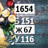 Рацион на 1654 ккал высокобелковый (Б/Ж/У: 151/67/116)