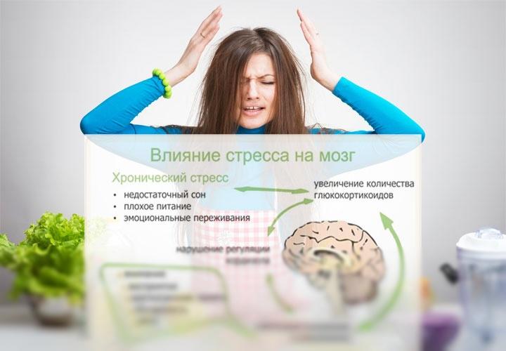 Как стресс влияет на похудение