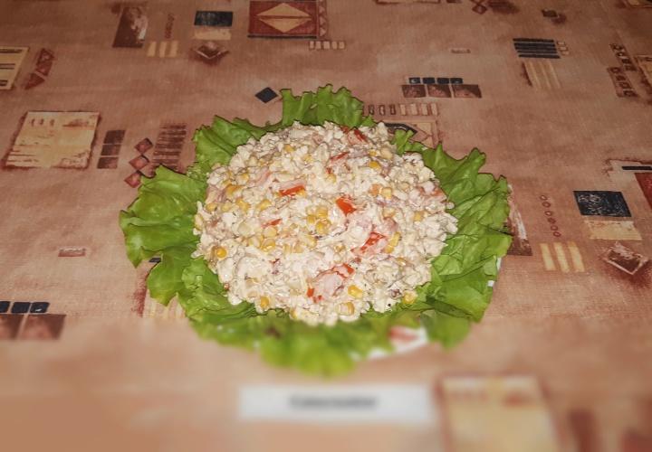 Диетический салат Каприз