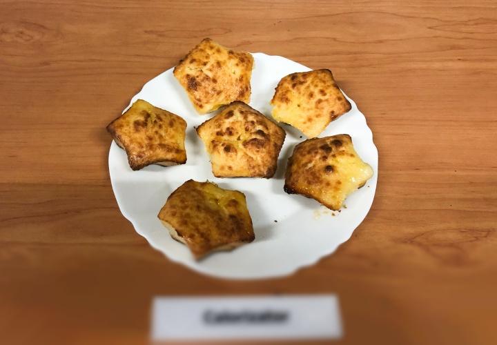 Творожные ПП кексы с апельсиновым джемом