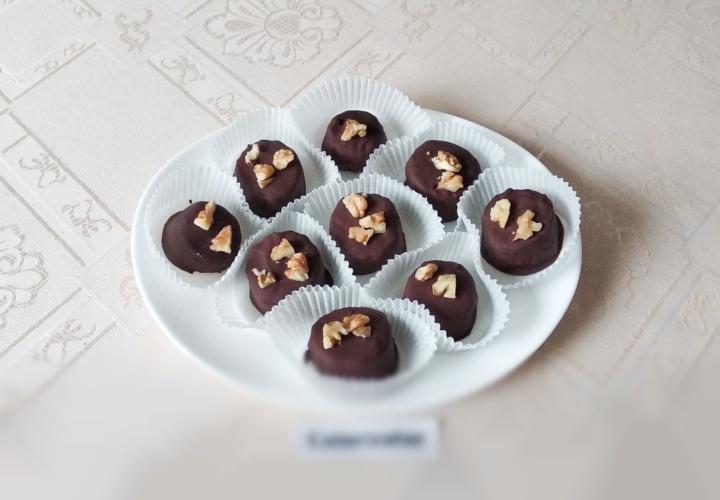 Банановые конфетки в шоколаде