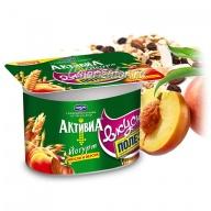 Йогурт Активиa Мюсли и персик