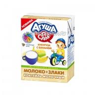 Коктейль молочный Агуша Я Сам! кукуруза с бананом