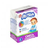 Смесь Агуша-1 кисломолочная адаптированная жидкая