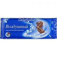 Шоколад Воздушный пористый тёмный