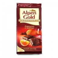Шоколад Alpen Gold Апельсин и Бренди
