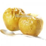 Яблоко печёное кисло-сладкое