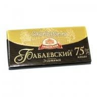 Шоколад Бабаевский Элитный 75%