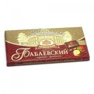 Шоколад Бабаевский Горький с фундуком