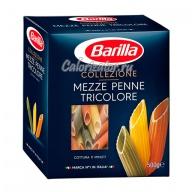 Макароны Barilla Colezione Mezze Penne Tricolore