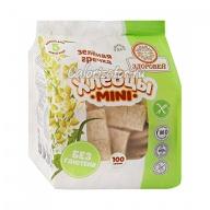 Хлебцы Здоровей Mini зелёная гречка