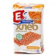 Хлеб Елизавета вафельный кукурузный