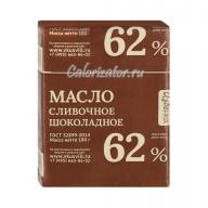 Масло сливочное шоколадное Избёнка (ВкусВилл) 62%