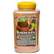 Какао-порошок обезжиренный 0-1%