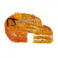Торт Постный апельсиновый