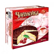 Торт Чародейка с вишней