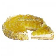 Торт Творожно-сливочный с ананасом