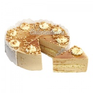 Торт Птичка от Палыча крем-брюле