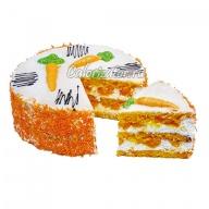 Торт Постный с морковью и мандаринами