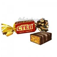 Конфеты Славянка Золотой степ глазированные арахис карамель