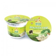 Сыр Premier of Taste мягкий с зеленью и огурчиком