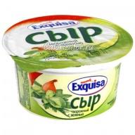 Сыр Exquisa творожный с зеленью
