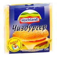 Сыр Hochland плавленый Чизбургер ломтики