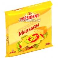 Сыр President Мастер Бутерброда Мааздам