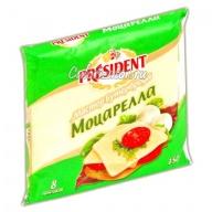 Сыр President Мастер Бутерброда Моцарелла