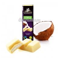 Шоколад белый с кокосом