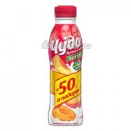 Йогурт Чудо Двойной вкус Персик-Абрикос
