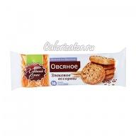 Печенье овсяное Хлебный Спас Злаковое ассорти на фруктозе