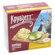Хлебцы Круазетт ржано-пшеничные с сыром