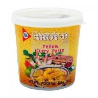 Паста карри жёлтая Aroy-D