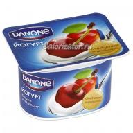Йогурт Danone Вишня и черешня
