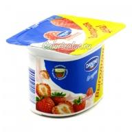 Йогурт Danone Клубника