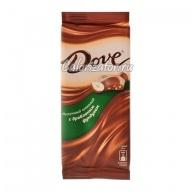 Шоколад Dove молочный с дробленым фундуком