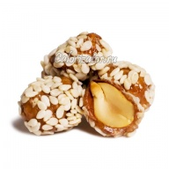 Драже арахис с мёдом и кунжутом